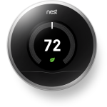Smart home thermostat Nest